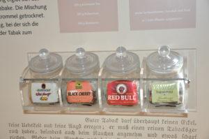 Pfeifentabak in vielen Geschmacksrichtungen