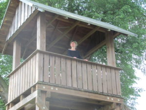 Der Aussichtsturm in Mellin
